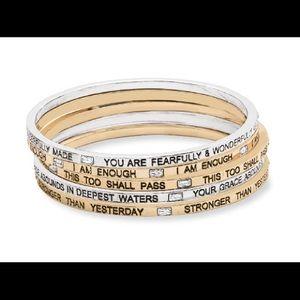 Rest Assured Premier Designs Bangles Bracelet Set